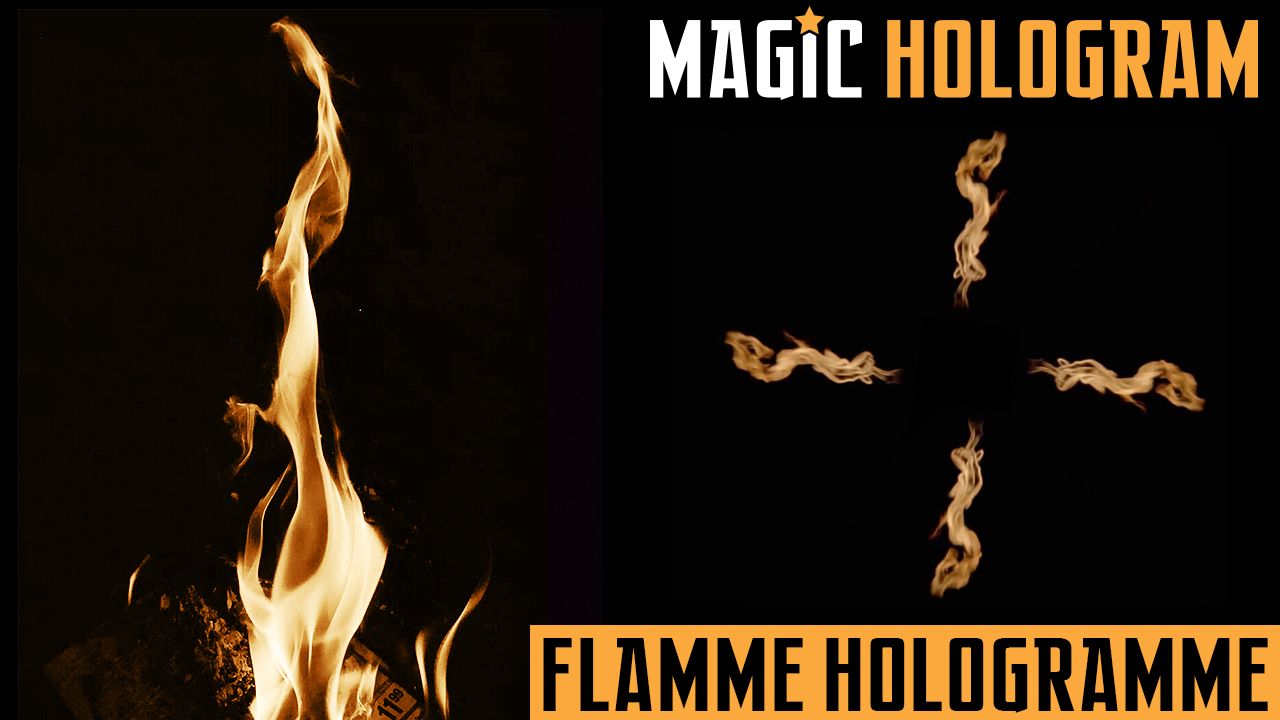 Flamme Hologramme