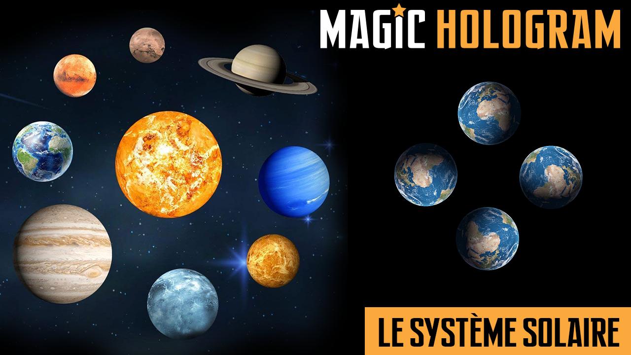 Hologramme du Système Solaire